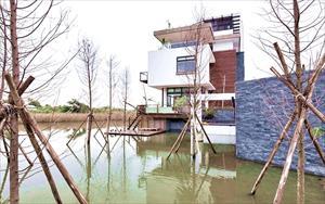 湖水綠水岸會館