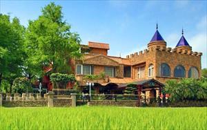 綠博溫泉民宿「芯園~親子滑梯城堡」圖片